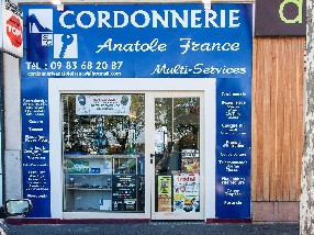 CORDONNERIE ANATOLE FRANCE Perpignan